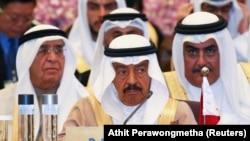 Bahrain's Prime Minister Prince Khalifa Bin Salman al-Khalifa
