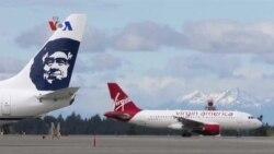 Alaska Airlines Mengakuisisi Virgin America