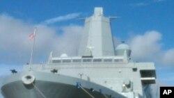 Transportna amfibija USS New York ima u sebi sedam i pol tona čelika iz nebodera blizanaca