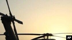 سقوط هلیکوپتر ناتو در جنوب افغانستان