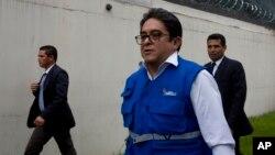 FILE - Guatemalan human rights prosecutor Jordan Rodas.