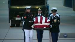 Вашингтон прощається із сенатором Джоном Маккейном. Відео