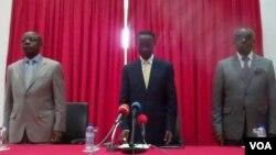 Angola, Interior Minister Bornito Balatazar Diogo de Sousa