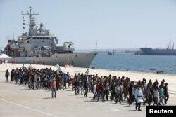 Nhiều nước Châu Âu cho rằng tình hình hỗn loạn ở Libya đã gây ra làn sóng thuyền nhân.