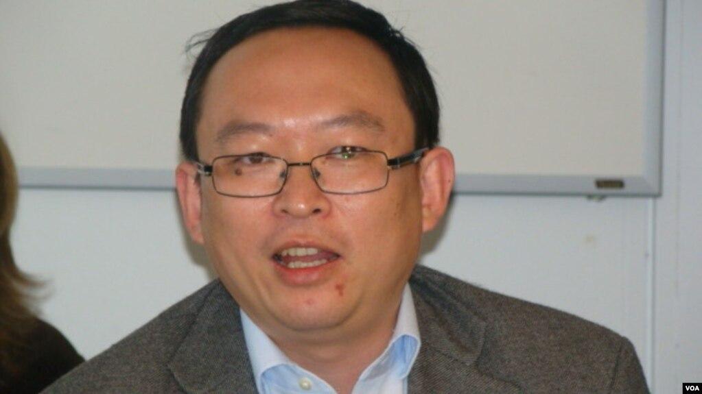 余杰民運人士(Yu Jie, Chinese Dissident) (美國之音宋德成)