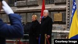Kolinda Grabar Kitarović u službenoj posjeti Bosni i Hercegovini boravila tri dana.