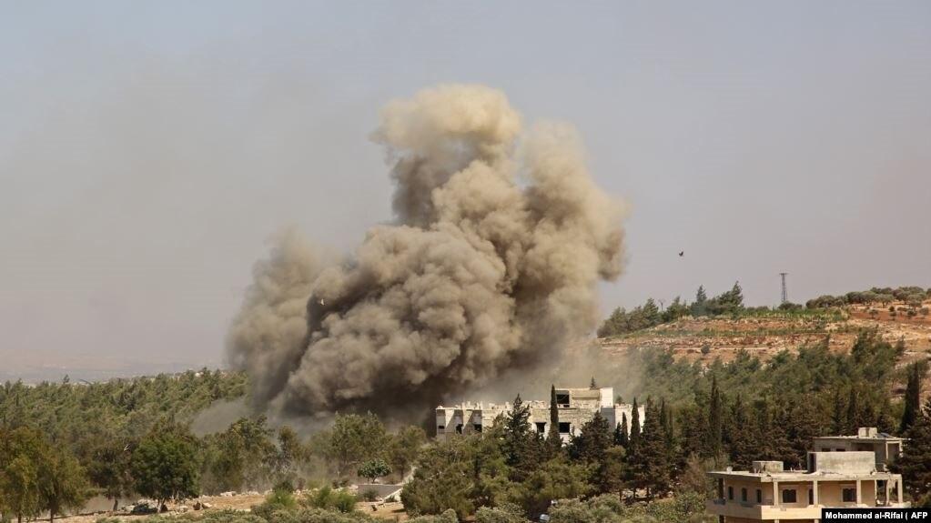 Российские авиаудары в Сирии