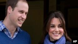 威廉王子的夫人凱特(2012年12月6日資料照片)