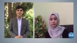 Afg'onistonlik veb va grafik dizaynchi qizlar