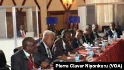Bamwe mu banyepolitike bari baritabiriye ibiganiro vy'Abarundi i Arusha mu 2018