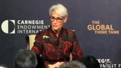 وندی شرمن: تحریمهای ایران برای تروریسم و نقض حقوق بشر باقی هستند