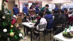 N. Korean Defectors Celebrate Christmas