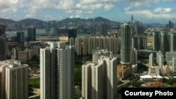 香港地少人多,住宅房屋都非常密集