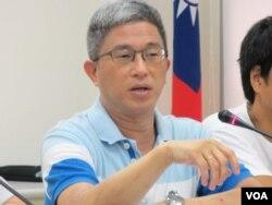 台湾中央研究院政治研究所副研究员徐斯俭(美国之音张永泰拍摄)