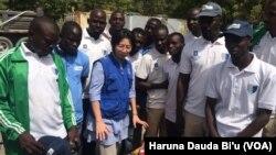 Matasan da suka sami horo a jihar Borno