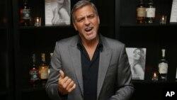 Bintang film dan aktivis George Clooney (foto: dok).