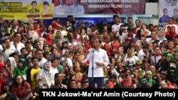 Program Kartu Prakerja merupakan janji kampanye Jokowi pada Pilpres 2019 lalu.(Foto: TKN Jokowi-Ma'ruf Amin)