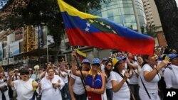 2月26日委內瑞拉由學生領導的抗議活動繼續。