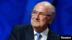 Sepp Blatter, le président démissionnaire de la Fifa