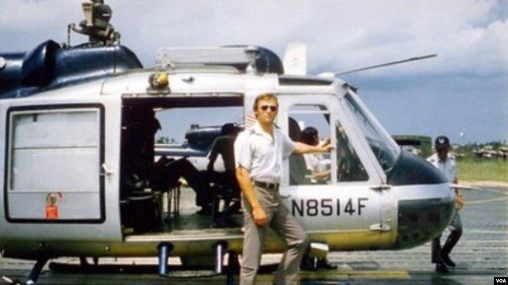 Cựu giới chức CIA, Jim Parker