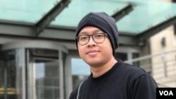 Halim Miftahul Khoiri, mahasiswa S2 di George Washington University jurusan kajian Islam (dok: VOA)