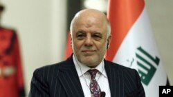 Le Premier ministre irakien Haider Al-Abadi, 7 janvier 2017.