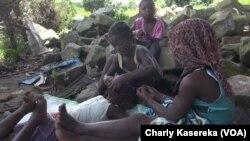 """Les enfants de l'orphelinat """"Maman Marie"""" à Beni, en RDC, 17 octobre 2018. (VOA/Charly Kasereka)"""