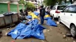 Qindra të vdekur nga cunami në Indonezi
