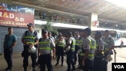 Cảnh sát Brazil được triển khai để giữ gìn an ninh tại Brasilia.