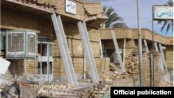 اورژانس بیمارستان امام خمینی شهر بم پس از زلزله