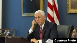 Mike Pence, potpredsjednik SAD-a.