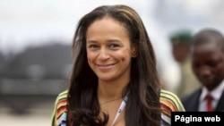 Razão para sorrir: Influente no mundo, mais rica em Portugal - Isabel dos Santos
