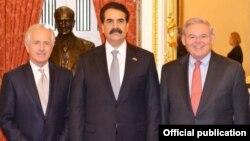 جنرل راحیل امریکی سینیٹ کی کمیٹی برائے خارجہ امور کے ارکان کے ساتھ
