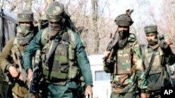 کشمیر میں بھارتی فوجی