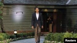 Барак Обама в Кэмп-Дэвиде