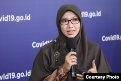 Tim Pakar Gugus Tugas Percepatan Penanganan COVID-19, dr. Dewi Nur Aisyah. (Sumber: BNPB)