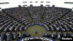 位于法国斯特拉斯堡的欧洲议会大厦