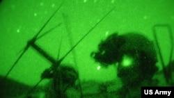 美國特種兵2011年7月在阿富汗反恐。(美國陸軍照片)
