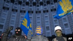 Biểu tình tiếp diễn tại Ukraina