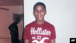 Undated handout photo released by the Martin family public relations representative shows 17-year-old Trayvon Martin.