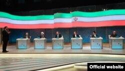 اولین مناظره تلویزیونی ۶ نامزد دوازدهمین دوره انتخابات ریاست جمهوری ایران