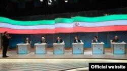 در انتخابات ریاست جمهوری ایران به شمول آقای روحانی شش نامزد اشتراک دارند