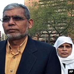 Anwar and Arifa Hashmi, parents of the accused