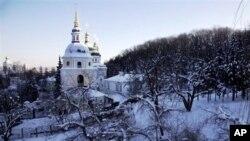 1月30号乌克兰一座教堂