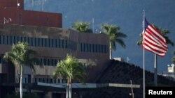 Đại sứ quán Mỹ ở Caracas, Venezuela, ngày 24 tháng 1, 2019