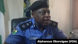 Kwamishanan 'yan sandan jihar Abia, Mr.Anthony Ogbuizi