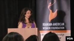 مریم خسروانی، موسس بنیاد زنان ایرانی آمریکایی پیشرو