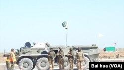 巴基斯坦派兵參加俄羅斯的軍事比賽活動。(資料圖片)