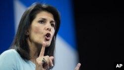 Thống đốc bang South Carolina của Hoa Kỳ, bà Nikki Haley, tuyên bố không muốn tù nhân tù nhân từ Guantanamo.