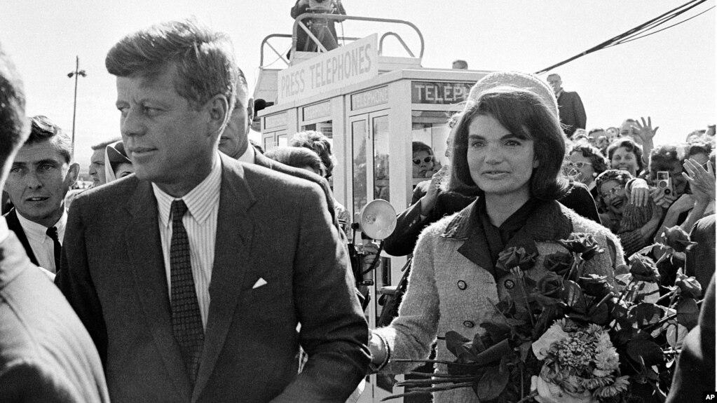 the jfk files more than 50 years of questions conspiracies rh voanews com Marina Oswald Killing Kennedy Ginnifer Goodwin Killing Kennedy